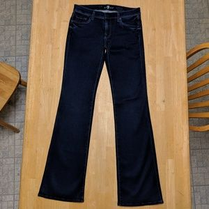 NWOT 7 For All Mankind the skinny bootcut jeans 29